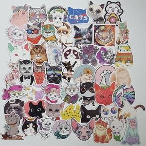 Other - 50 Cat Stickers